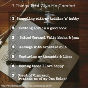 7 Things That Give Me Comfort Including Grandma