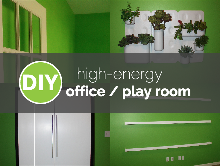 {My Former High-Energy Office and Play Room}