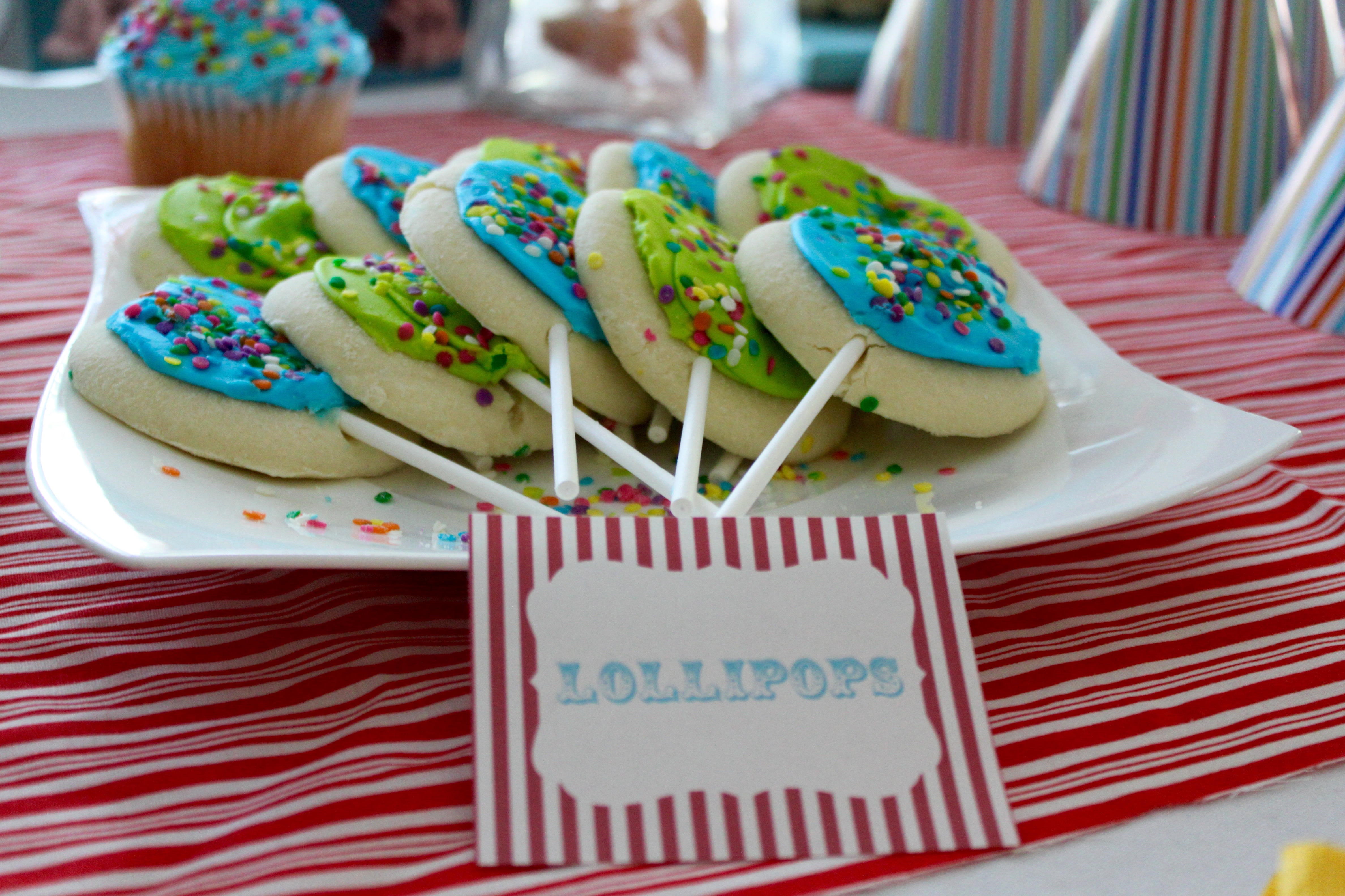 Lollipop Cookies | {My Life Space Moments}