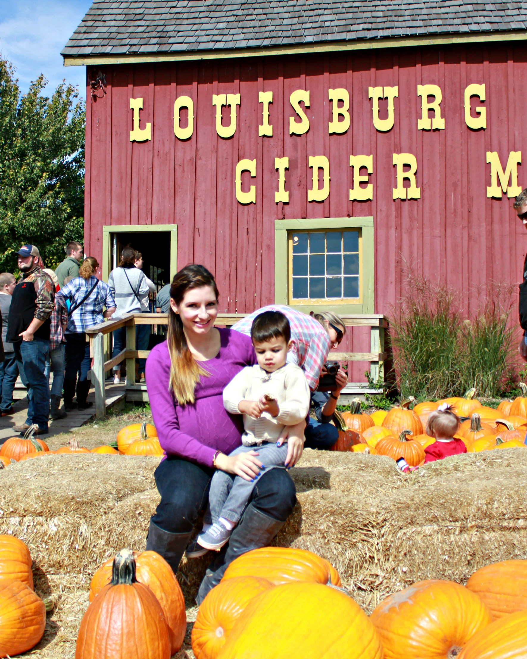 Louisburg Cider Mill with Mommy - {My Life Space Moments}