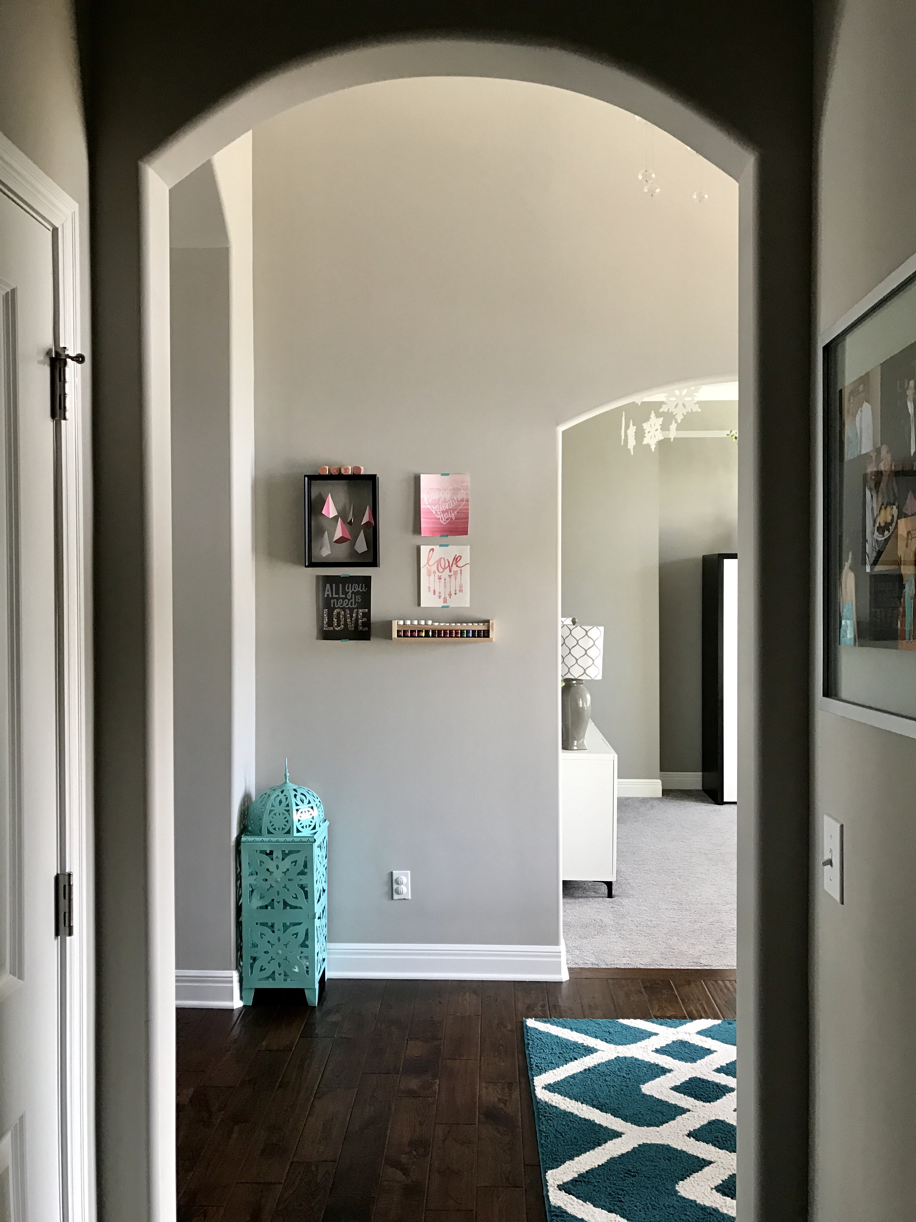 View of Entryway When Entering from Garage
