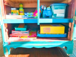 Creation Station: How to Make an Imaginative Space for Kids | My Life Space Moments @ AshleyCamber.com