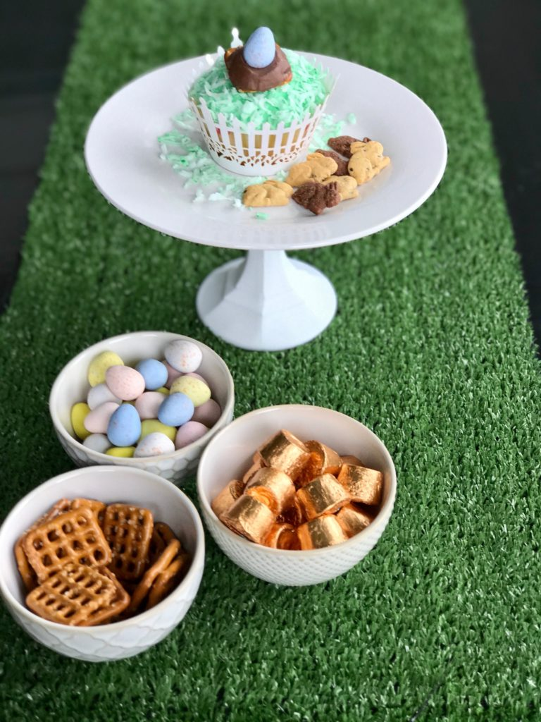 Easter Egg Pretzel Treats with Kids | My Life Space Moments @ AshleyCamber.com