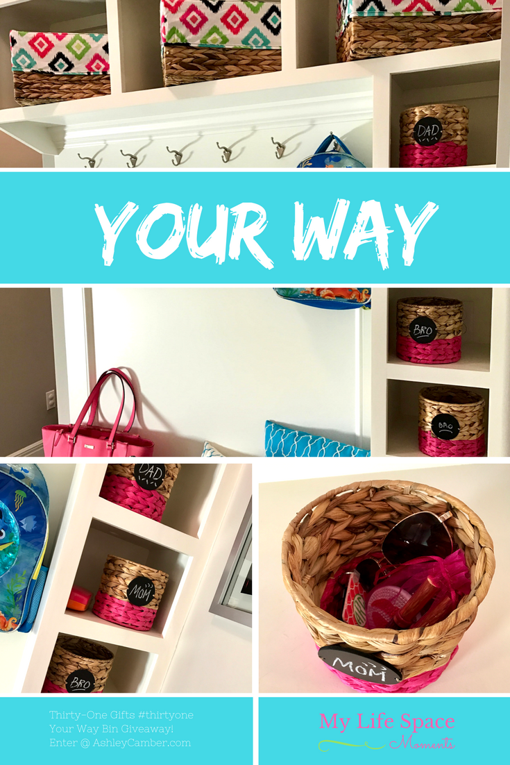 Organizing Your Way ~ It's Your Space | My Life Space Moments @ AshleyCamber.com
