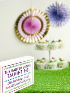Easter Cupcakes with Kids | My Life Space Moments @ AshleyCamber.com
