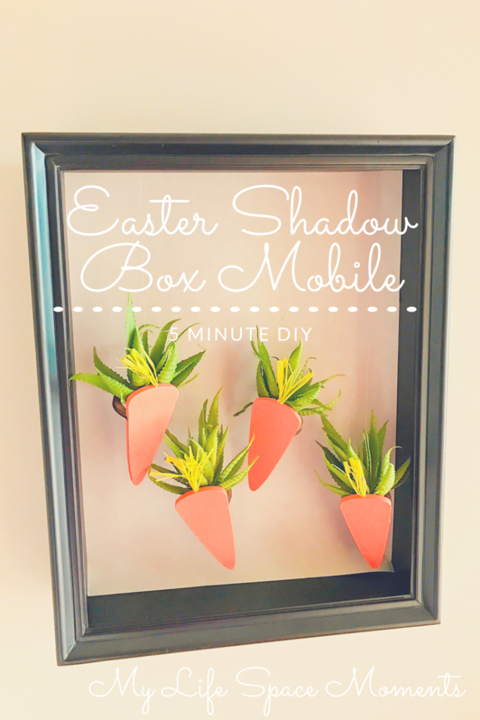 Easter Shadow Box Mobile | {My Life Space Moments} @ AshleyCamber.com