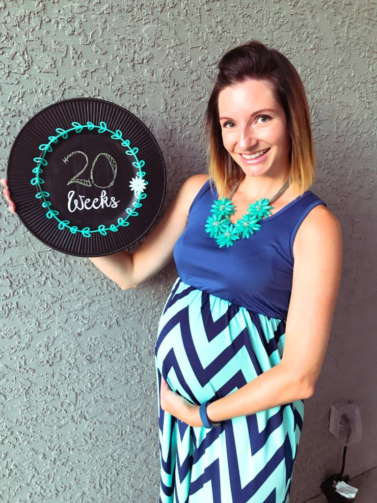 20 Weeks Pregnant with Baby #3