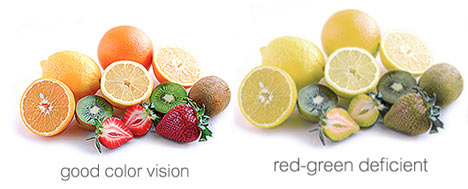 Red-Green Color Blind - Fruit