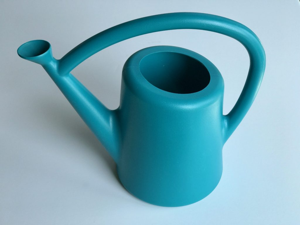 Mid-Century Style Watering Can | My Life Space Moments